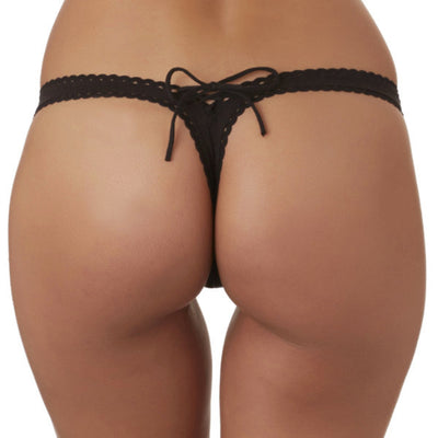 Bahia Black Thong