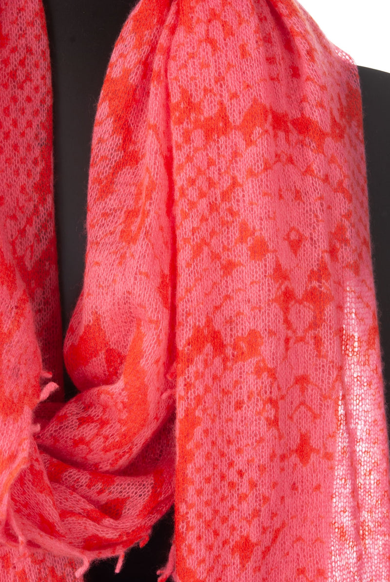 Scarf Pink | coral