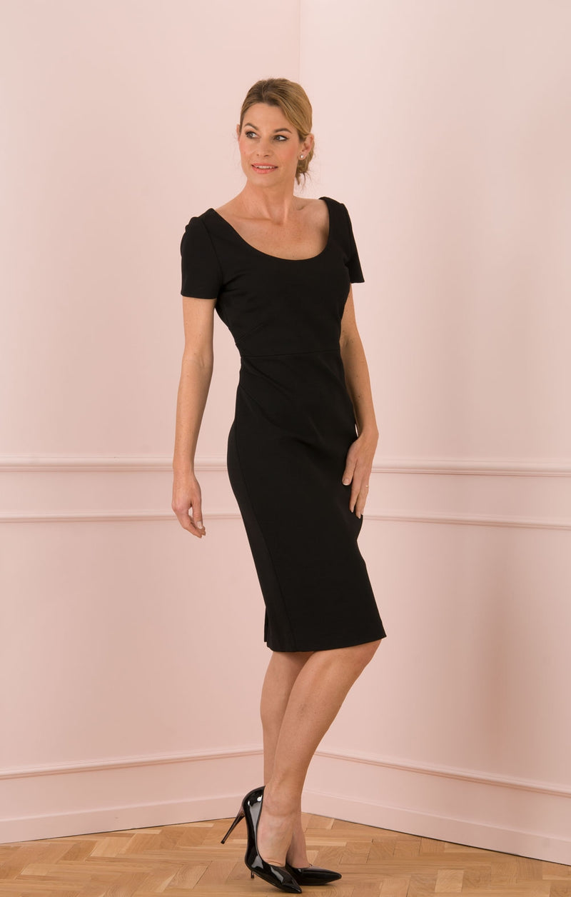 "Robe ""Scoop"" Noir"