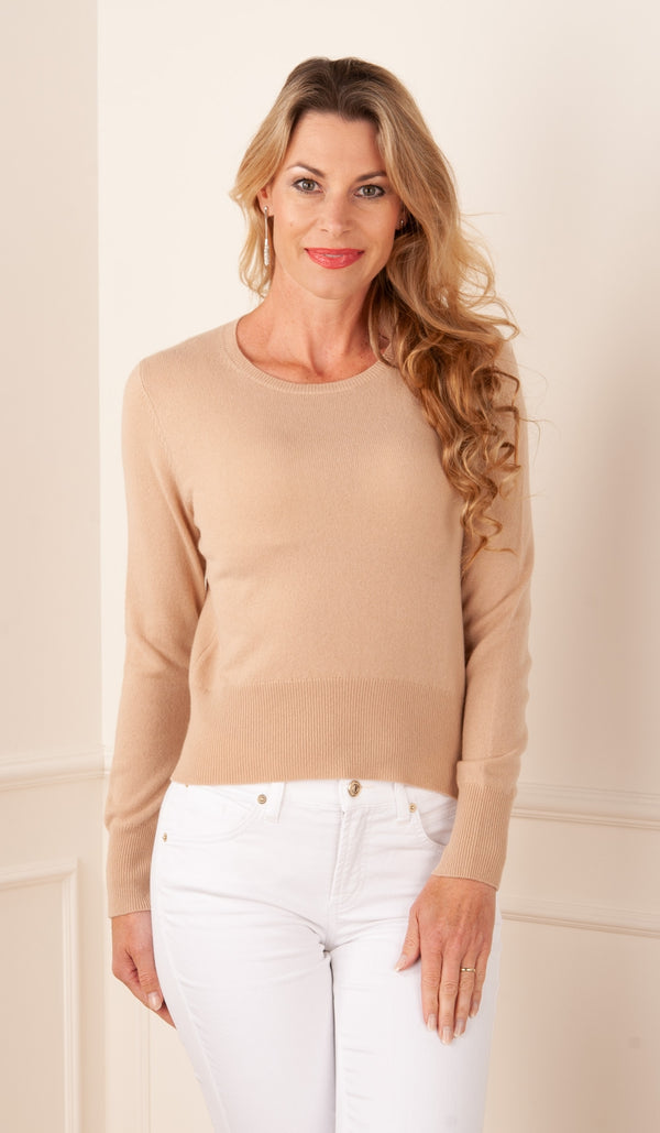 FTC Fair Trade Cashmere - Pullover Beige