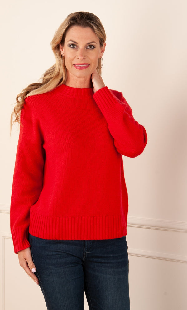 FTC Fair Trade Cashmere - Pullover Rot
