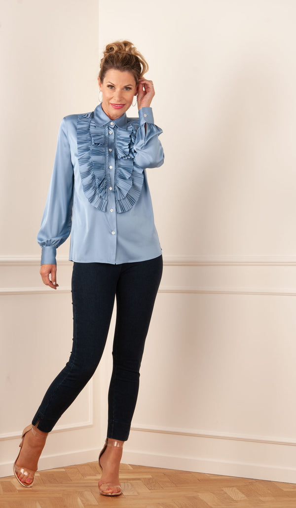 "Blouse ""Palace"" Blue"