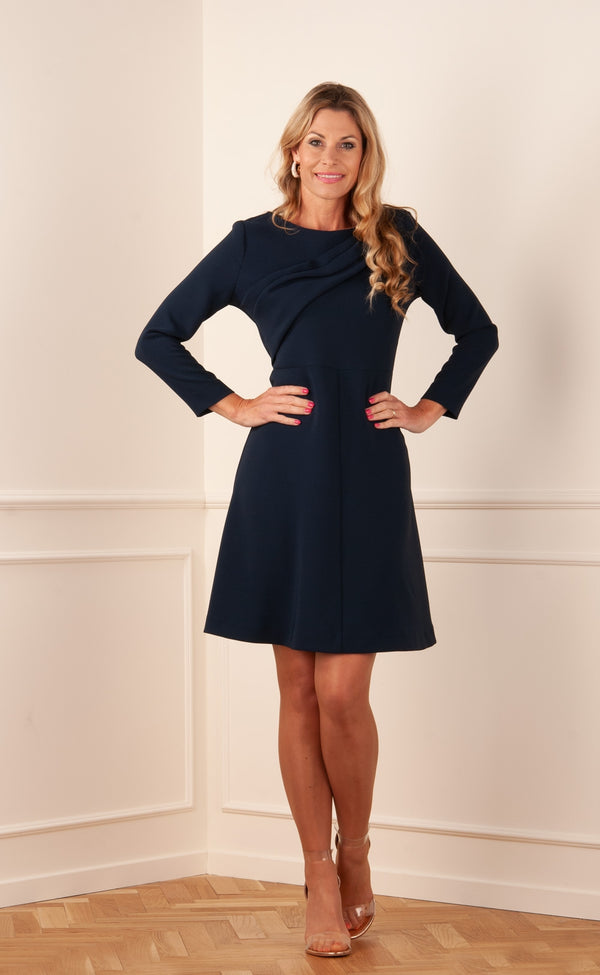 "Dress ""Polox"" Dark Blue"