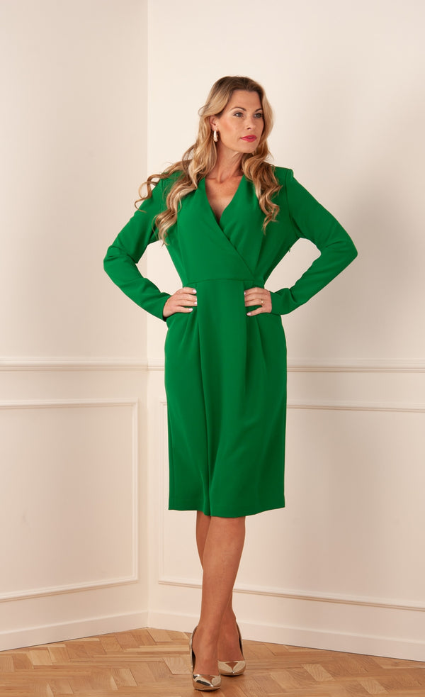"Dress ""Piratyx"" Green"