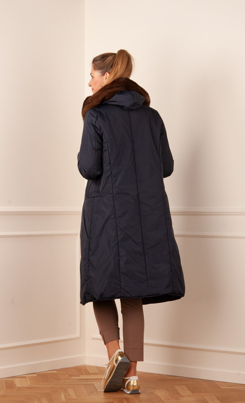 Parsva coat Dark blue