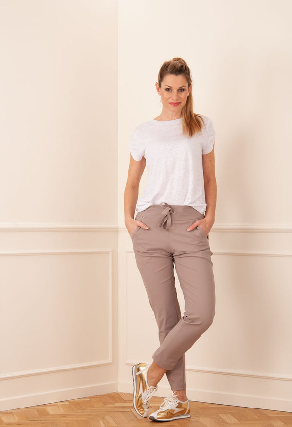 7 / 8 cinsa O. Grey Brown pantalons