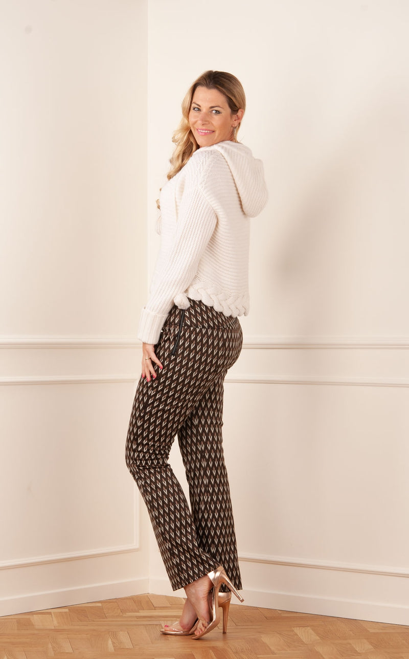 "Pantalones ""Fallon"" Brown 