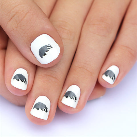 Badger Nail Art Transfers