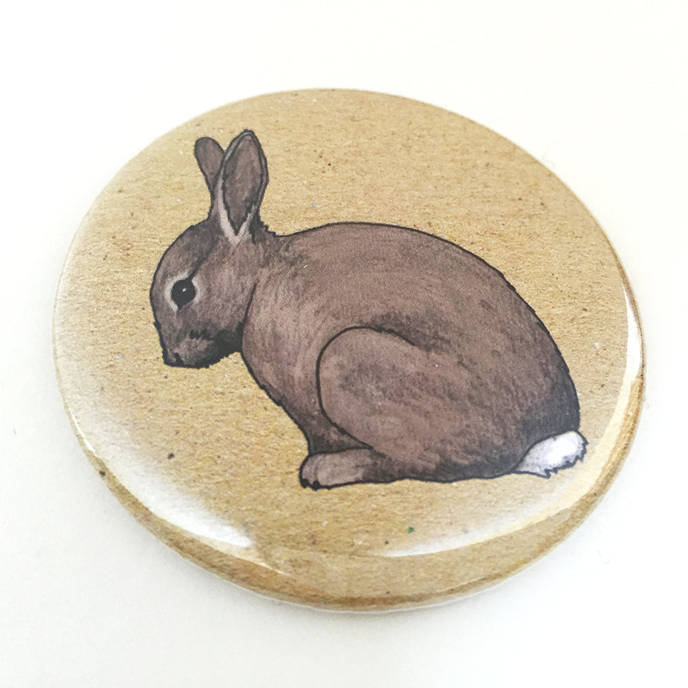 Rabbit pocket mirror