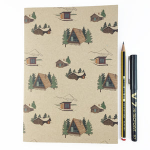 Winter Lodge Notebook