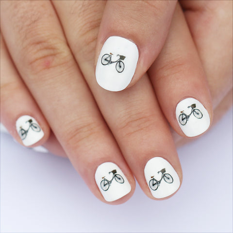Bicycle Nail Art Transfers