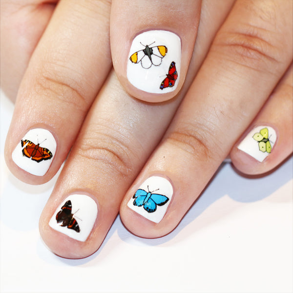 Butterfly Nail Art Transfers
