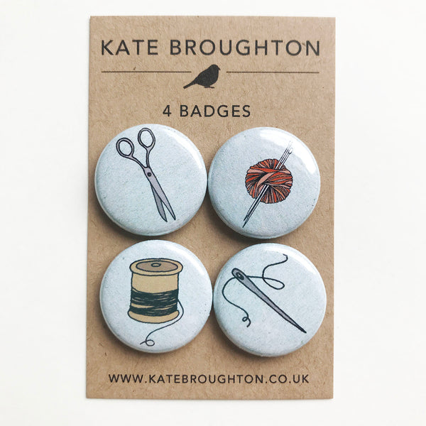 Craft badge set