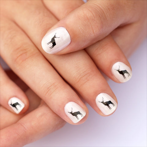Deer Nail Art Transfers