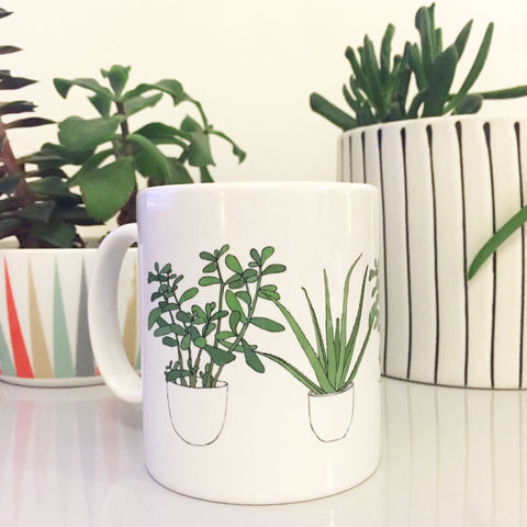 Houseplants Mug