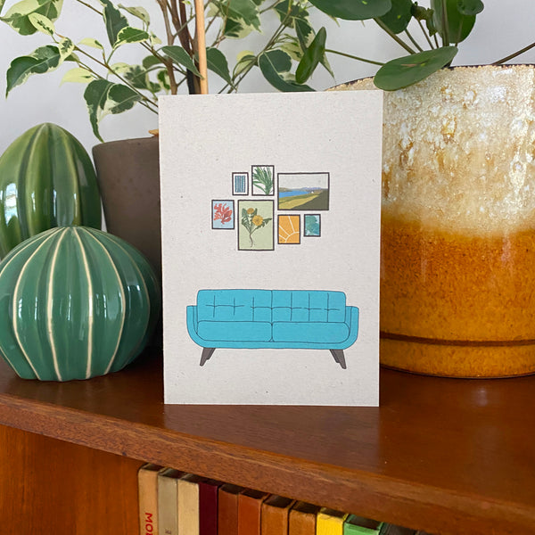 Retro Homes Sofa Card