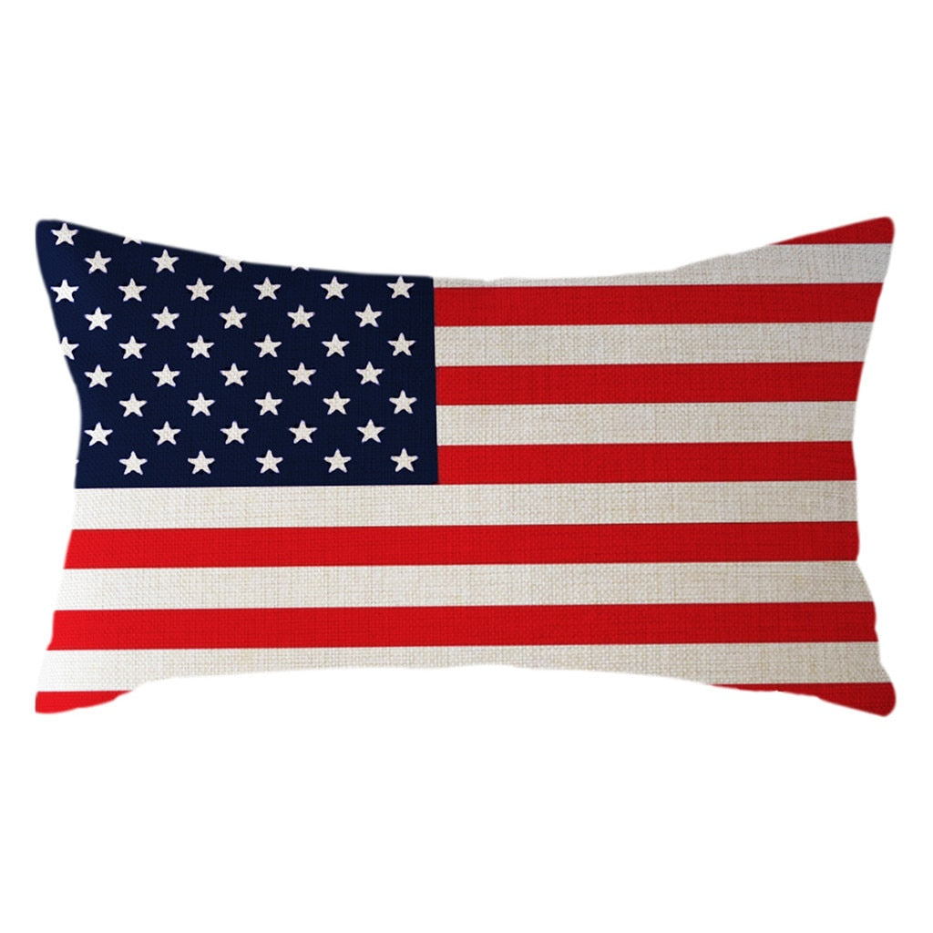 UK USA Flag Pattern Pillowcase