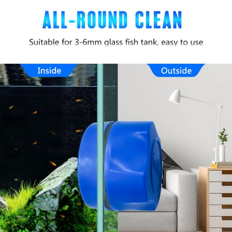 Aquarium Fish Tank Magnetic Clean Brush