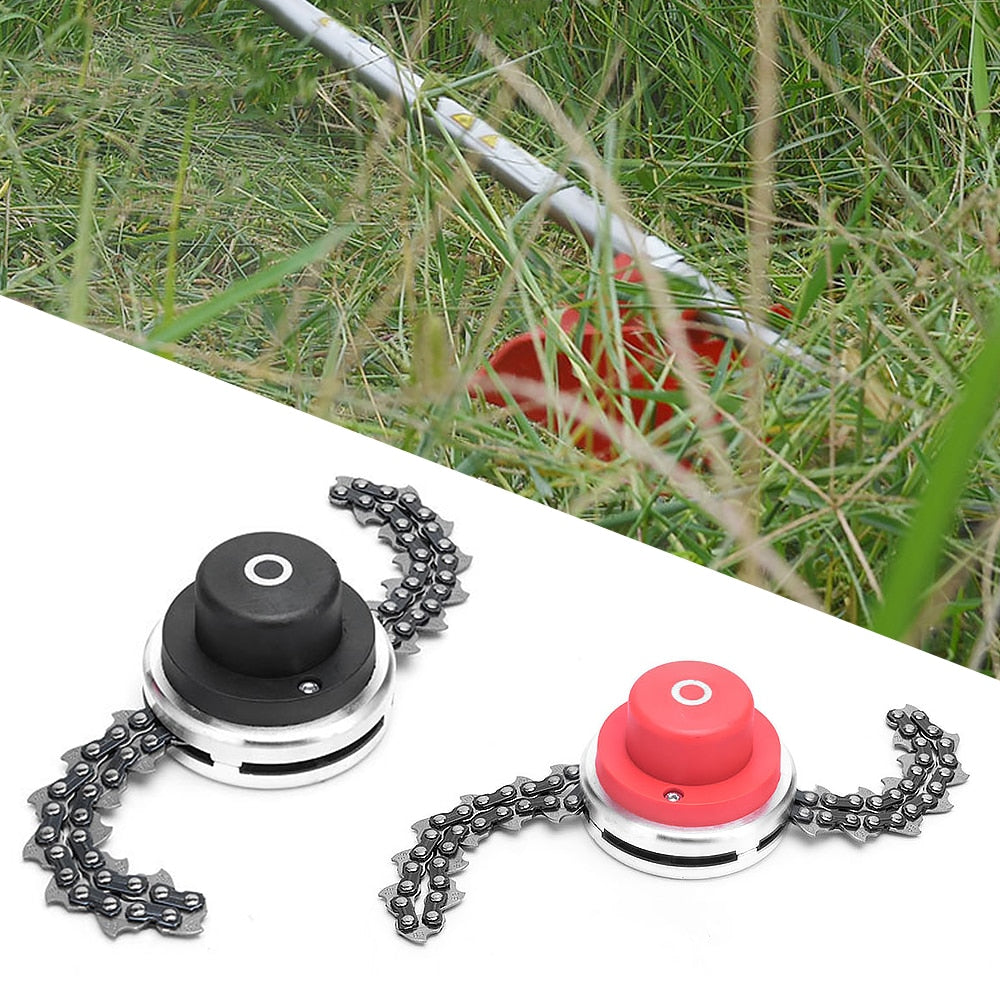 Grass Trimmer With Thickening Chain