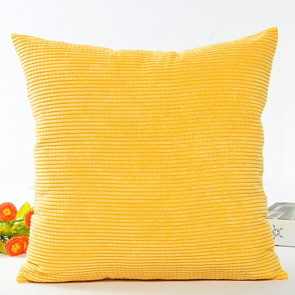 Sofa Waist Throw Cushion Cover