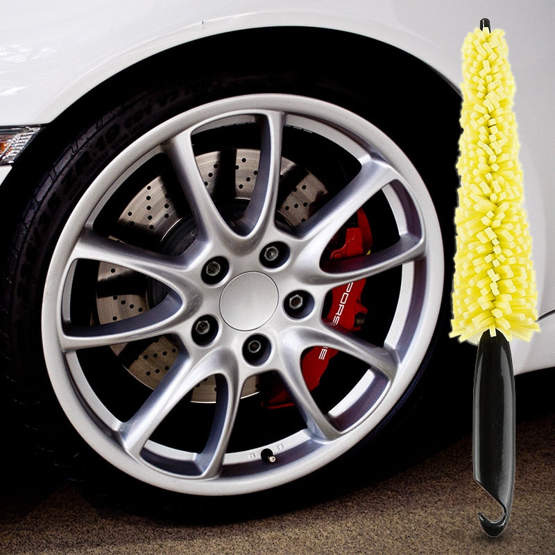 Wheel Rims Tire Cleaning Brush