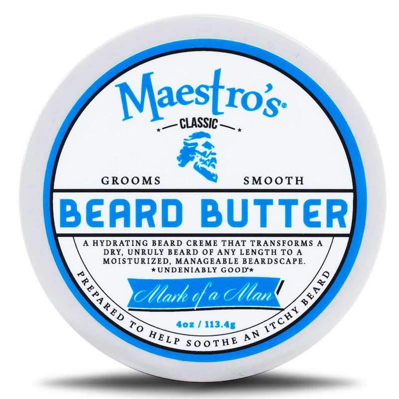 Maestro's Classic Beard Butter: for daily hydration of your beard.