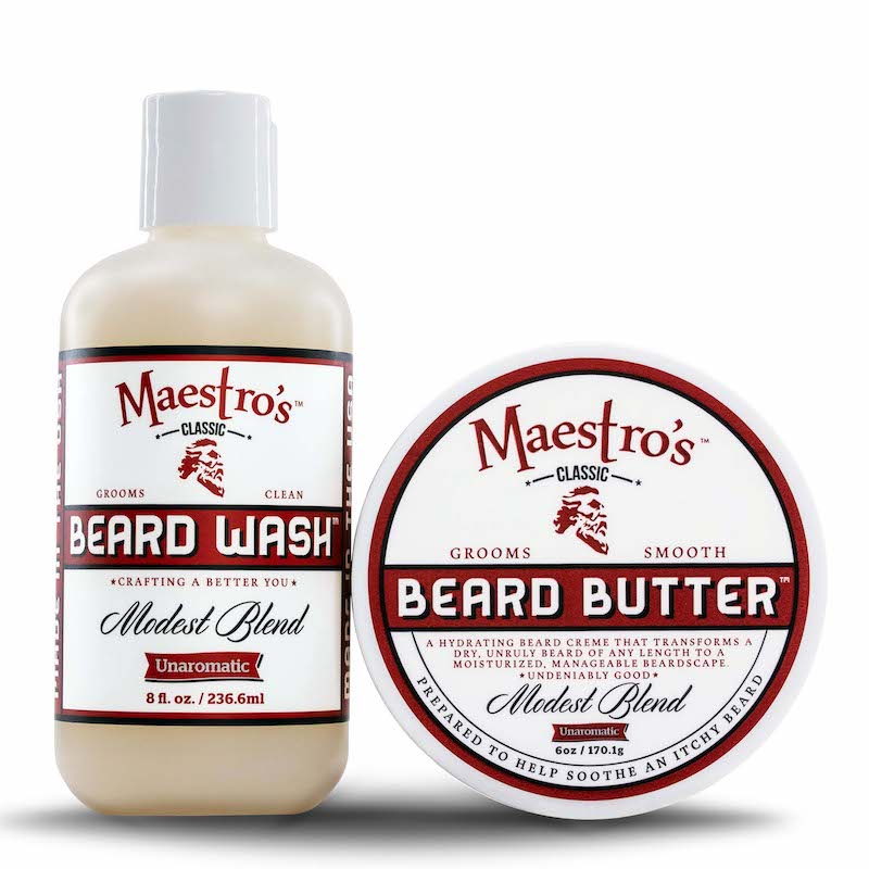 Maestro's Classic, Modest Blend, Beard Care Products