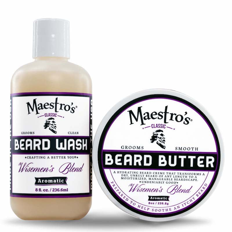 Maestro's Classic, Wisemen's Blend, Beard Care Products