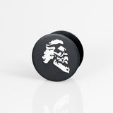 "Maestro's Classic PopSocket Phone Accessory- Matte Black with White ""Head"" Logo"