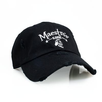 Maestro's Classic Distressed Dad Hat (Ballcap)