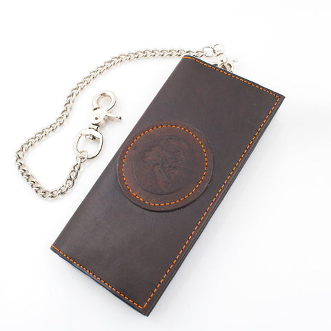 Maestro's Only Chain Wallet-Brown