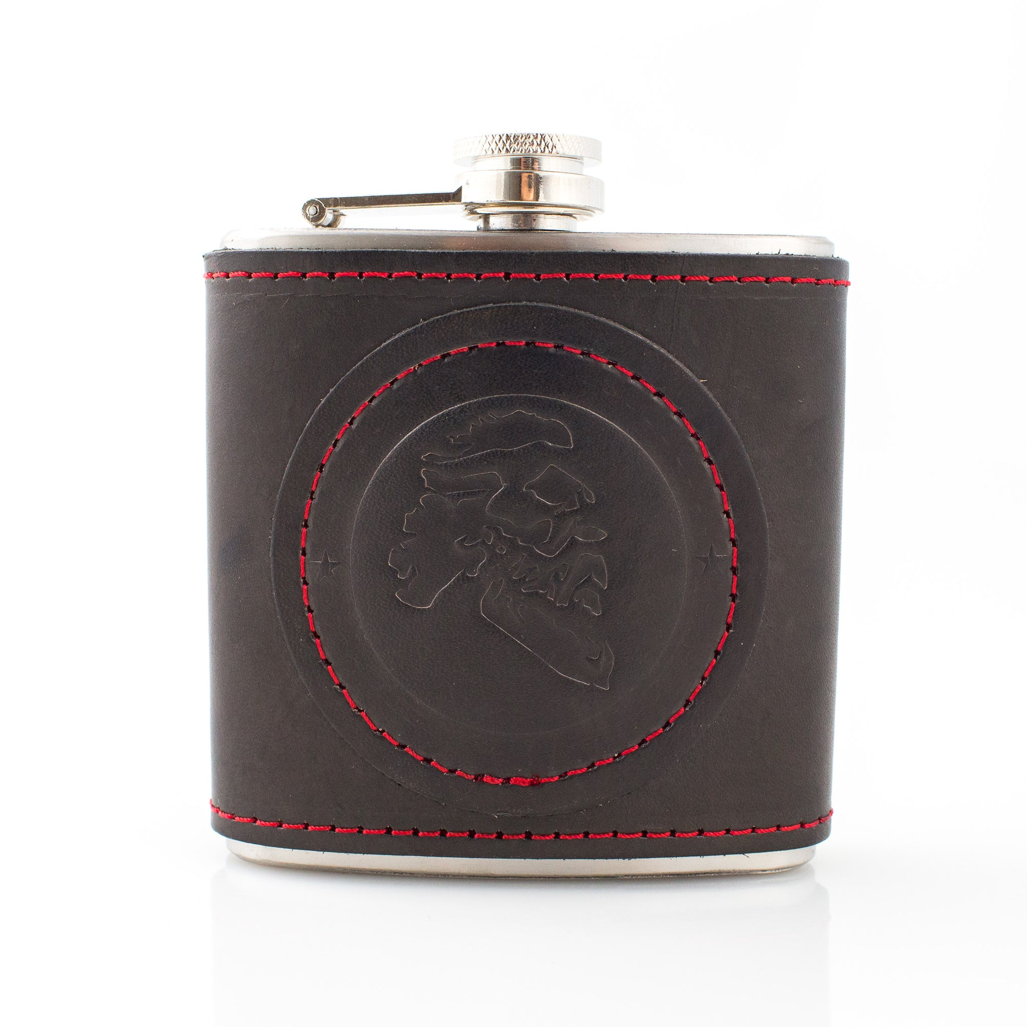 Maestro's Only - Leather Bound Flask