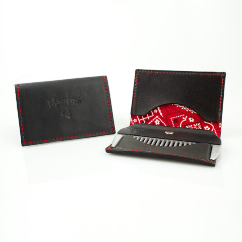 Maestro's Only - Minimalist Wallet with Beard Comb