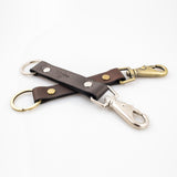 Anthony Spadafora Maestros Classic Leather Keychain