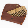 Maestro's Only - Beard Comb in Leather Sleeve