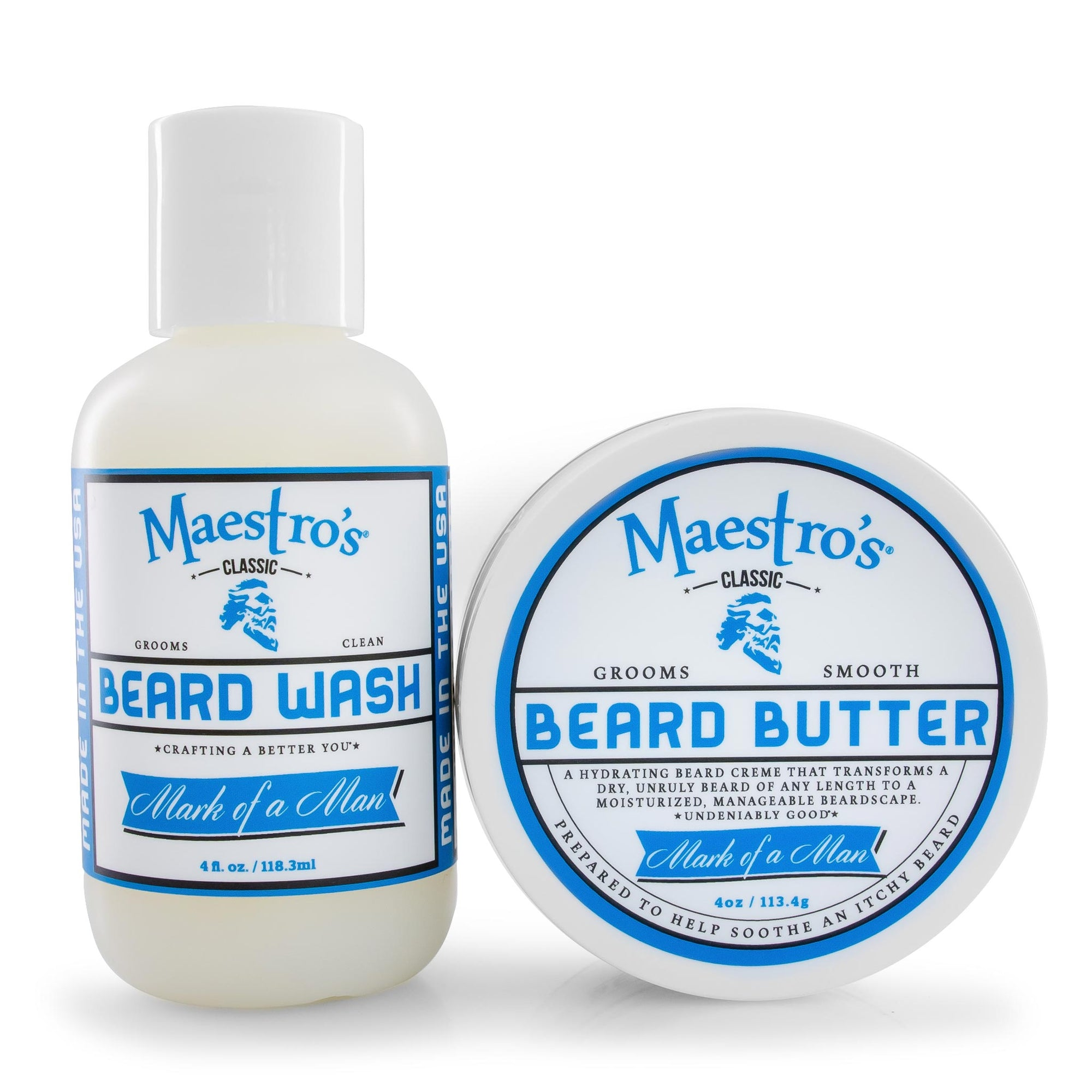 Mark of a Man Blend Set with Beard Oil