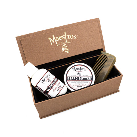 Anthony Spadafora Maestro Classic Mini Blend Set w/ Comb