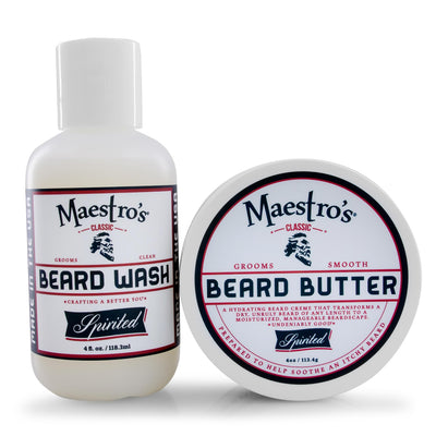 Spirited Blend Set with Beard Oil