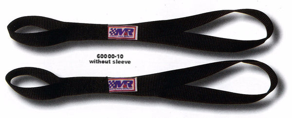 "1"" Motorcycle Tie Down Strap, ""SOFT TOUCH"" Extension Loops w/ Fleece Sleeve Option"