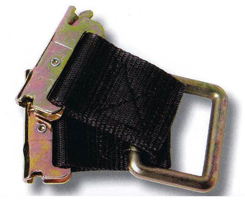 "Hardware-Transport, 2"" Strap Guide, Double Leg, Spring E Ends"
