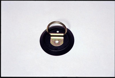 Hardware-Transport, D Ring, Recessed/Flush with Anti Rattle Base