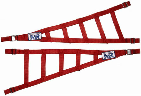 "Triangle Roll Cage / Head Net Adj. 30""-39"" Long x 10-12"""
