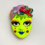 Handpainted Mask Magnet 8/25