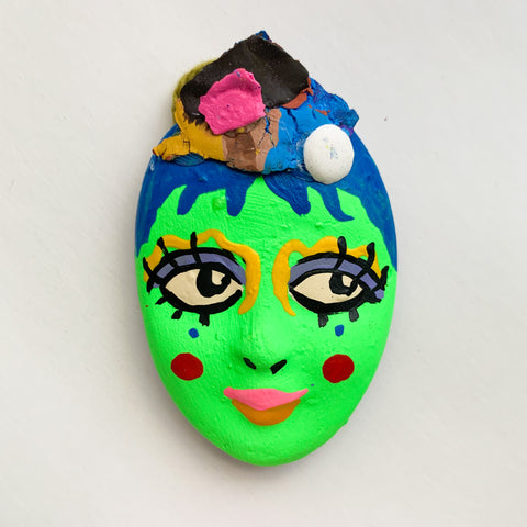 Handpainted Mask Magnet 11/25