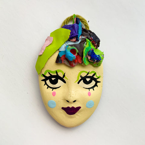 Handpainted Mask Magnet 18/25