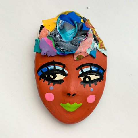 Handpainted Mask Magnet 22/25