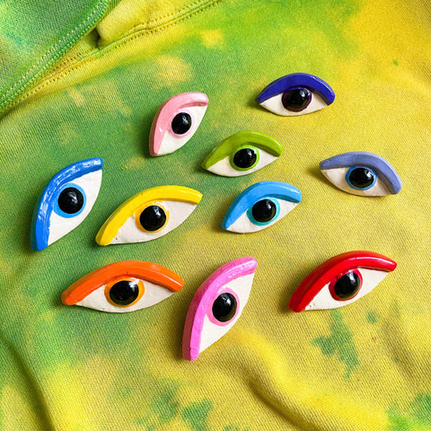 Eye Brooches