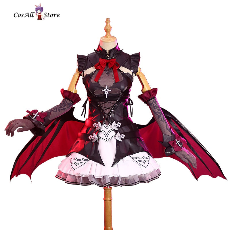 Honkai Impact 3 Rita Rossweisse Cosplay Costume devil sexy dress female Haloween cosplays