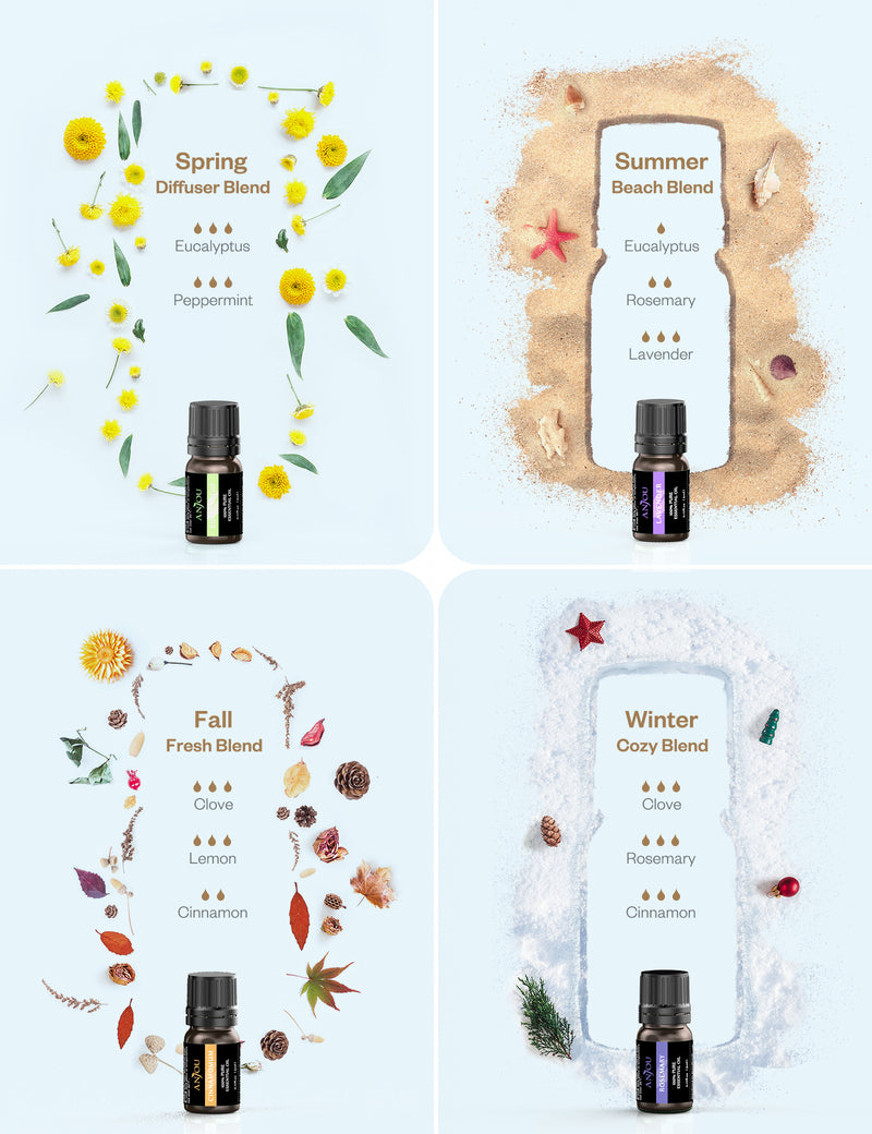 Essential Oils 18PCS Upgraded Gift Set Pure & Therapeutic Grade