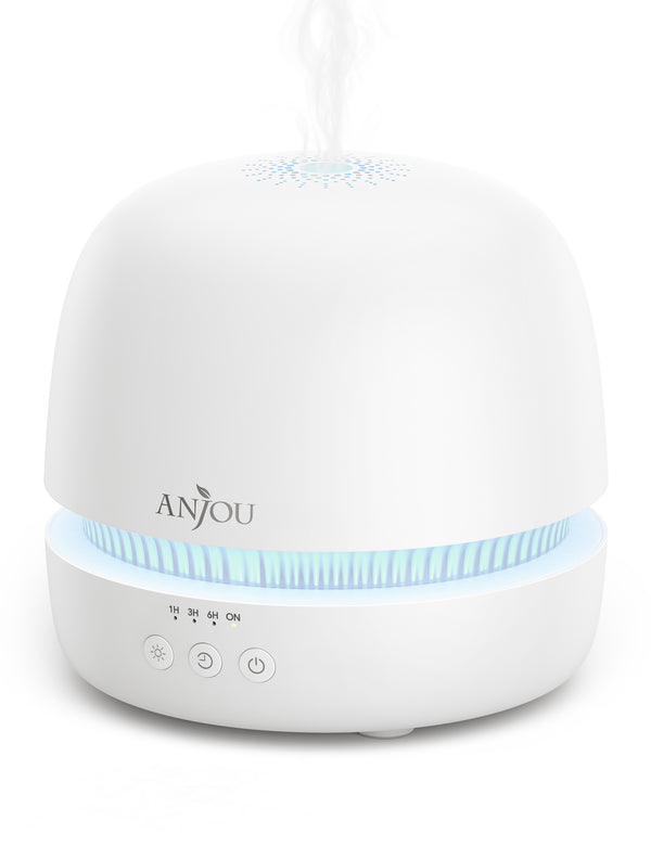 300ml Ultrasonic Aroma Diffuser with Continuous Aromatherapy